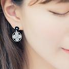 韩国进口四叶花耳环38510耳钉式, 植物, 平面/立体几何图形精品 花 圆形