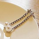 38909耳钉式, 平面/立体几何图形链子 珠子 圆形