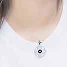 韩国进口四叶花项链38511锁链形, 十字架, 植物, 平面/立体几何图形精品 花 菱形 十字架 圆形