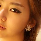 luxcoco雪花水晶耳饰39209