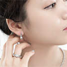 Luxcoco锆石戒指39034平面/立体几何图形精品 珠子 圆形