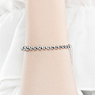 Luxcoco合金手链39036穿珠链, 单层链, 平面/立体几何图形精品 珠子 圆形