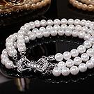 韩国进口晚宴手链39775穿珠链, 多层链, 平面/立体几何图形精品 珠子 圆形