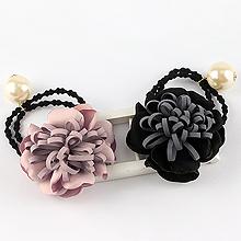 韩版花朵发绳