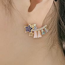 �n��仿水晶星星耳�44277