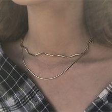 48431锁链形, 多层链波浪形 蛇链 双层