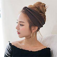 48461发箍发带, 蝴蝶结, 平面/立体几何图形蝴蝶结 宽发带 纯色 条纹
