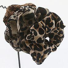 48467发圈发绳豹纹 蛇纹