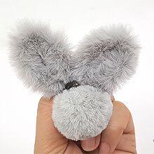 48723发圈发绳, 蝴蝶结, 动物兔子 毛球 蝴蝶结