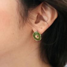48890耳钉式圆形 圆环 椭圆形