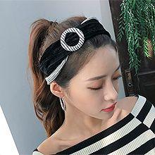 48626发箍发带, 平面/立体几何图形圆形 双层 条纹 发带 编织
