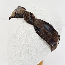 48807发箍发带, 蝴蝶结, 平面/立体几何图形打结 蝴蝶结 拼接 长方形