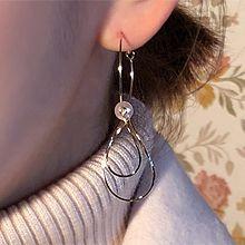 48944耳圈耳扣水滴形 圆形 珠子