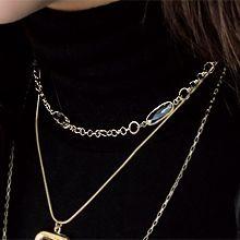49045锁链形, 单层链椭圆形