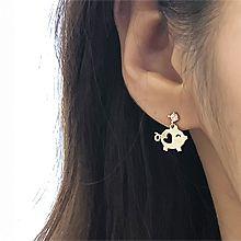 49061耳钉式, 动物, 平面/立体几何图形小猪