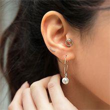 49183耳钉式, 耳圈耳扣十二件套 珠子 圆形