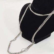 48980单层链麻花形 蛇链