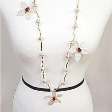 49191锁链形, 珠仔链, 单层链, 植物, 平面/立体几何图形花 珠子 圆形
