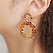 47424耳钉式圆形 圆环