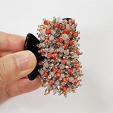 47509爪夹, 平面/立体几何图形珠子 圆形