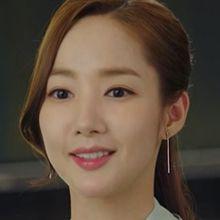 47792耳钉式长方形 不对称 明星款 朴敏英 韩剧《金秘书为什么那样》