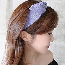 47855发箍发带, 蝴蝶结, 平面/立体几何图形蝴蝶结 发箍 纯色 方格