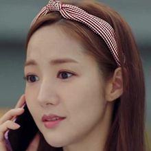 47760发箍发带条纹 发箍 明星款 朴敏英 韩剧《金秘书为什么那样》打结