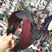 47781发箍发带, 蝴蝶结, 植物蝴蝶结 蕾丝 叶子 发箍