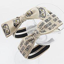 47789发箍发带, 蝴蝶结, 字母数字/符号, 动物字母 发箍 蝴蝶结 猫