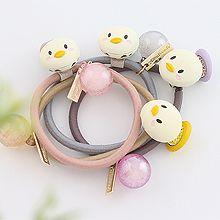 47845发圈发绳, 动物鸭子 圆球 圆形