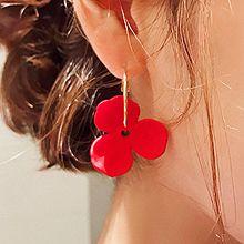 47969耳圈耳扣, 植物, 平面/立体几何图形花