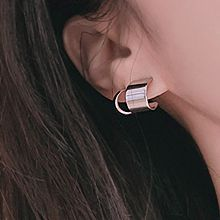 C形多耳洞套装耳环48013C形 长方形 六件套
