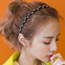 47936发箍发带, 平面/立体几何图形珠子 细发箍 圆形