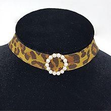 48278绳子形, 单层链豹纹 珠子 圆环