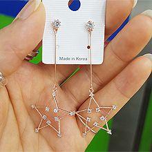 48309耳钉式, 天体自然现象, 平面/立体几何图形星星