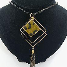 48318锁链形, 单层链, 多层链豹纹 菱形 流苏