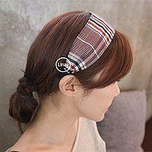 48115发箍发带, 平面/立体几何图形方格 宽发箍