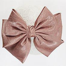 48190边夹顶夹, 蝴蝶结, 平面/立体几何图形纯色 蝴蝶结 弹簧夹