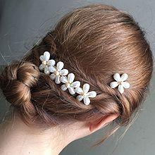 48246发梳插梳, 植物, 平面/立体几何图形花 水滴形 圆形 珠子