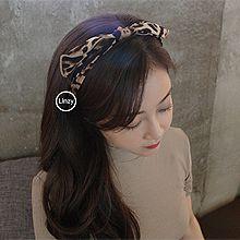 48321发箍发带, 蝴蝶结, 平面/立体几何图形豹纹 发箍 蝴蝶结