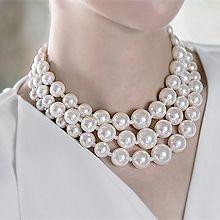 48307穿珠链, 多层链珠子 三层