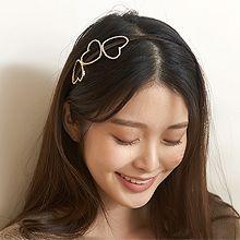 49313发箍发带, 心形, 平面/立体几何图形心形 发箍