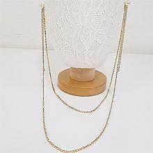 49330耳钉式, 平面/立体几何图形长款 多层 圆形 珠子 后挂式