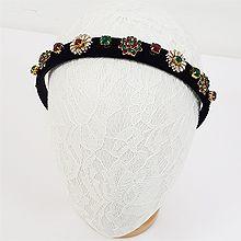 49353发箍发带, 植物, 平面/立体几何图形花 发箍 圆形