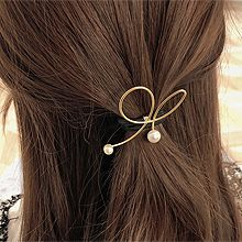 49476发圈发绳, 蝴蝶结, 平面/立体几何图形蝴蝶结 圆形 珠子
