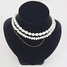 49541珠仔链, 多层链, 平面/立体几何图形多层 珠子 圆形