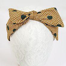 49354发箍发带, 蝴蝶结发箍 蝴蝶结 方格 圆形 圆点