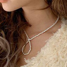 49334珠仔链, 单层链圆形 珠子 水滴形