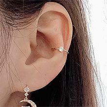 51666耳夹圆形 耳夹 整件925银