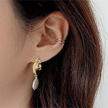 51668耳夹圆形 耳夹 双层 整件925银
